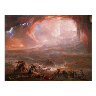 Destruction Of Pompeii And Herculaneum Postcard