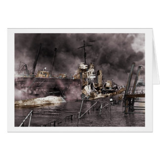 Destruction of Ship Card