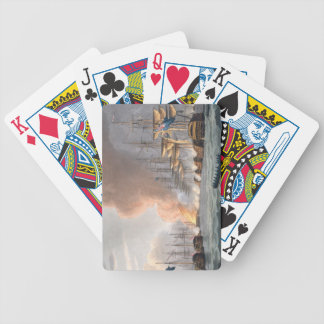 Destruction of the Danish Fleet before Copenhagen, Bicycle Playing Cards