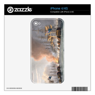 Destruction of the Danish Fleet before Copenhagen, Skin For The iPhone 4