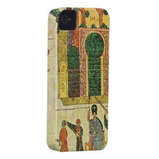 Destruction of the first temple by Nebuchadnezzar Case-Mate iPhone 4 Case