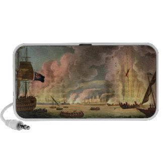 Destruction of the French Fleet at Toulon, 18th De Portable Speaker