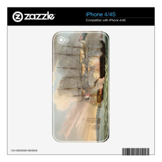 Destruction of the French Fleet in Basque Roads, A Decal For The iPhone 4S