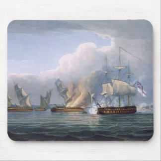 Destruction of the French Frigates L'Arianne & L'A Mouse Pad