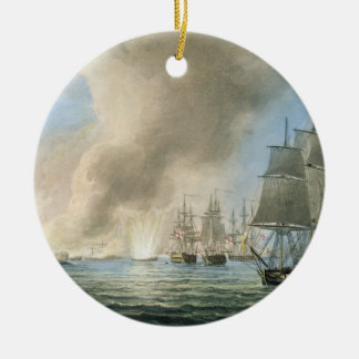 Destruction of the Turkish Fleet, 19th February, 1 Ceramic Ornament