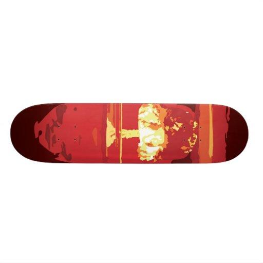 Destruction skateboard