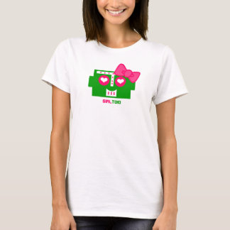 Destructoid Girl's Shirt