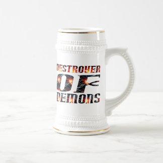 Destructor de demonios tazas de café