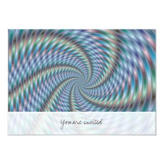 """Destructor de la mente - arte del fractal invitación 5"""" x 7"""""""