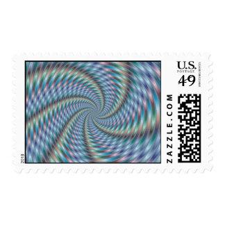Destructor de la mente - arte del fractal sellos