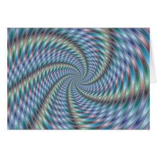 Destructor de la mente - arte del fractal tarjeta de felicitación
