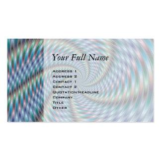 Destructor de la mente - arte del fractal tarjetas de visita