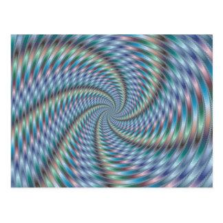 Destructor de la mente - arte del fractal postal