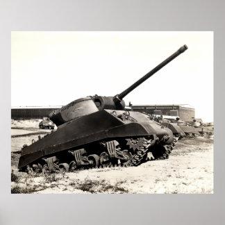 Destructor del tanque de WWII los E.E.U.U. Posters