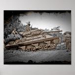 Destructor del tanque M-10 WWII Impresiones