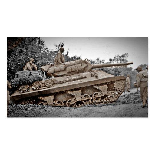 Destructor del tanque M-10 WWII Tarjetas De Visita