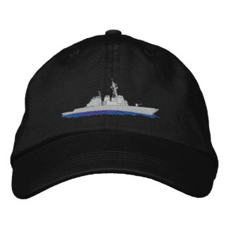 Destructor naval gorros bordados