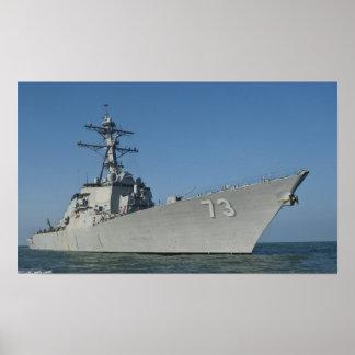 Destructor USS Decatur (DDG 73) del misil telediri Posters