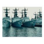 Destructores de la clase de Spruance, NAV STA, San Tarjetas Postales