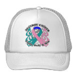 Destruya al cáncer de tiroides gorra