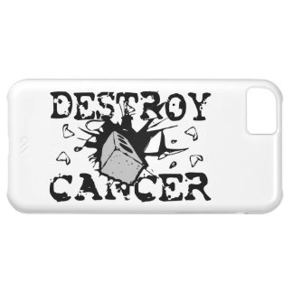 Destruya al cáncer funda para iPhone 5C
