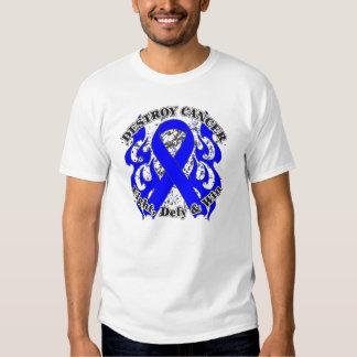 Destruya el cáncer de colon remera