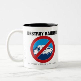 Destruya una taza de café más lluviosa