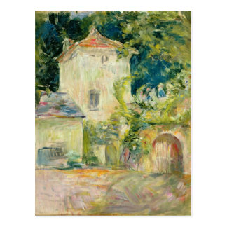 Desván de paloma en el castillo francés du Mesnil, Postal
