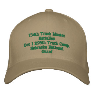 Det 1 1195th Trk Company Embroidered Baseball Hat