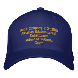 Det 1, 2/135th Aviation Baseball Cap