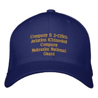 Det 1 Company B 2 / 135th Aviation Company Embroidered Hat