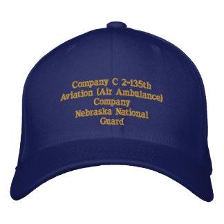 Det 1 Company C 2 / 135th Aviation Company Embroidered Baseball Caps