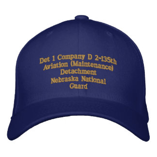 Det 1 Company D. 2/135th Aviation Embroidered Hats