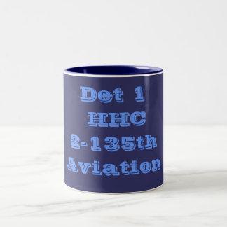 Det 1 Two-Tone coffee mug