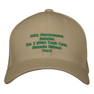 Det 3 1195th Trk Company Embroidered Baseball Cap