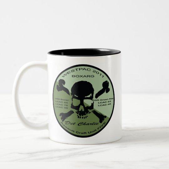 Detachment Charlie and LCAC 33 coffee mug