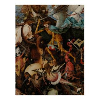 Detail: Fall of the Rebel Angels by Pieter Bruegel Postcard