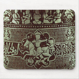 Detail from a lamp, from Egypt, 1282 Mouse Pad