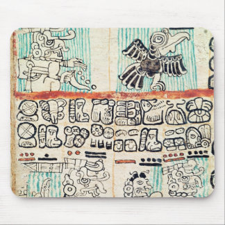 Detail from a Mayan codex Mouse Pad