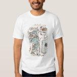 Detail from a Mayan codex T Shirt