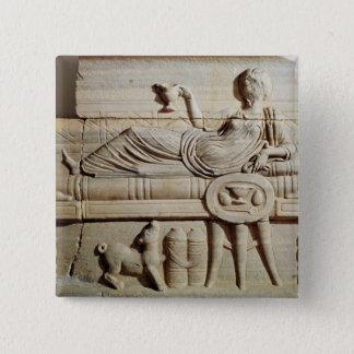 Detail from a sarcophagus button