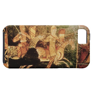 Detail from a wedding chest depicting soldiers goi iPhone SE/5/5s case