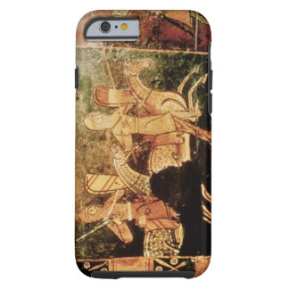 Detail from a wedding chest depicting soldiers goi tough iPhone 6 case
