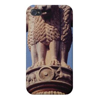 Detail from an Ashoka Pillar iPhone 4/4S Case