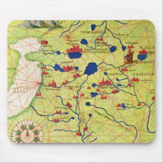 Detail from Europe and Central Asia Mouse Pad
