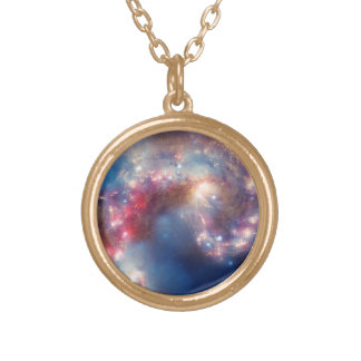 Detail from Galactic Collision Necklace