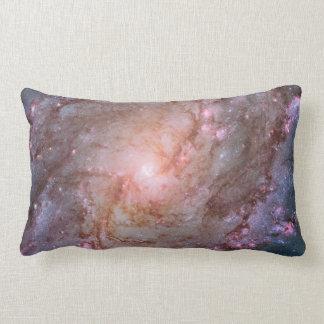 Detail from Spiral Galaxy M83 Lumbar Pillow