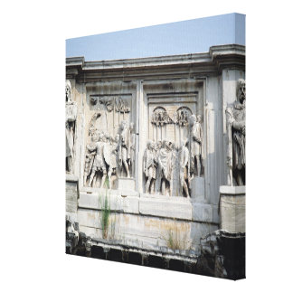 Detail from the Arch Constantine Canvas Print