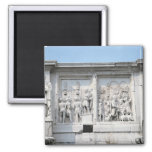 Detail from the Arch of Constantine Refrigerator Magnet