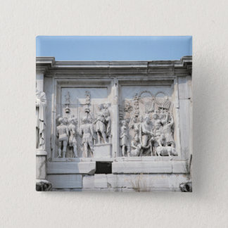 Detail from the Arch of Constantine Pinback Button